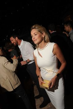 Sharon Stone in Bluemarine at the New York Premiere of 'Lovelace'