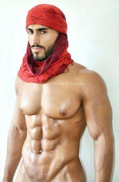 "blackosha: "" bigmalepecs: "" Nastase Daday by Albert Photography "" His nipples """
