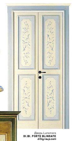 44 hi home krd april 2014 Painted Doors, Wooden Doors, Door Design, Wall Design, Wardrobe Internal Design, Decoupage, Unique Doors, Hand Painted Furniture, Old Doors