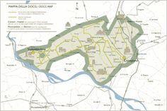Prosecco Superiore DOCG Map http://www.prosecco.it/en/enoturismo/comuni.php