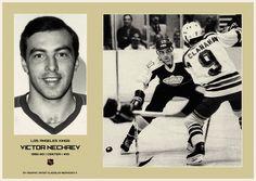 Виктор Нечаев - первый русский хоккеист в НХЛ. #hockey #nhl #хоккей