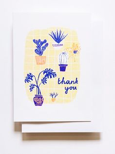 Yellow Owl Workshop Riso Print Greeting Cards / Oh So Beautiful Paper