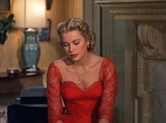 grace kelly vestido rojo - Buscar con Google