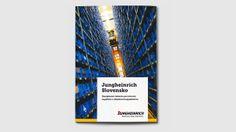 Branding brochure for German company Jungheinrich