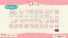 Animal Crossing Pc, Pink Island, Disneyland, Polaroid Frame, Motifs Animal, Path Design, Pink Animals, Cute Designs, Paths