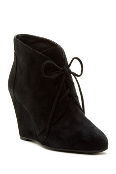 Fedora Suede Wedge Bootie by Via Spiga on @nordstrom_rack BozBuys Budget Buyers Best Brands! ejewelry & accessories…You can now browse my Kitsy Lane website as a guest!  Click anywhere from my blog at:  http://www.BozBuys.com/ Once at my Kitsy Lane website use this email address & password to sign in:  email: bozbuys@gmail.com, password: bozbuys1   Happy Pinning!  :)
