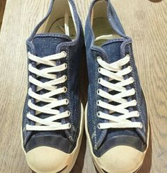 Jack Purcell denim fabric