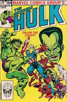 THE INCREDIBLE HULK # 284  MARVEL COMICS  1983  vf