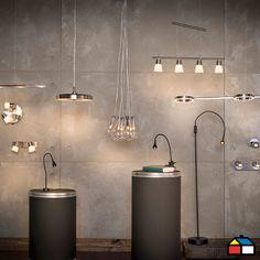 Las lámparas con led integrado ofrecen más de 5 años de vida útil y no emiten calor.