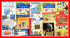 Curiosidades, pegatinas, dibujos... Estas vacaciones, ¡libros de arte para los pequeños de la casa! Encuéntralos en #LibreriaMPM