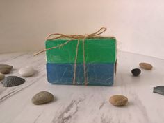 Soap Gift Bag Soap Set of 2 ~ Guest Soap ~ Guest Bath Soap ~ Gift Set ~ Handmade Soap ~ Luxury Soap ~ Face and Body Soap ~ Soap Bundle by CoconutSpiceSkincare on Etsy