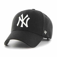d1ab094b79ef38 New York Yankees 47 Brand Black Clean Up Adjustable Hat Yankees Hat, Detroit  Game,