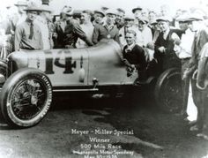 Louis Meyer in 1928. Louis was the first winning driver to request milk at the Indianapolis 500 and now it is one of the most enduring traditions at the track.