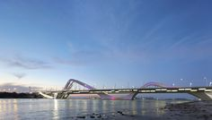 Sheikh Zayed Bridge, Zaha Hadid Architects,Abu Dhabi - United Arab Emirates