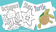 Super sweet animal themed number coloring pages will help your kids learn the numbers and help with counting.