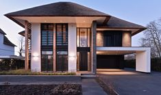 building a house Bungalow, Concept Architecture, Interior Architecture, Modern Villa Design, Toscana, Cool House Designs, Villas, Home Fashion, My Dream Home