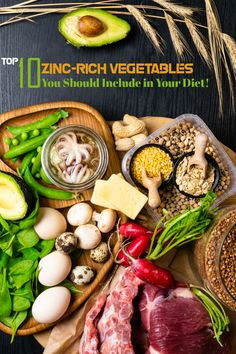 Top 10 Zinc-rich Vegetables You Should Include in Your Diet! Foods High In Zinc, Zinc Rich Foods, Best Iron Supplement, Iron Supplements, Zinc Deficiency, Eating Vegetables, Eat Right, Vegan Lifestyle