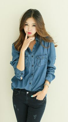 Korean Fashion Trends you can Steal – Designer Fashion Tips Korean Fashion Trends, Korean Street Fashion, Korea Fashion, Asian Fashion, Cute Fashion, Look Fashion, Teen Fashion, Fashion Outfits, Womens Fashion