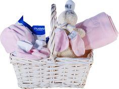 Canastilla para bebes con productos de mustela super completa http://www.lacestamagica.com/cestas-para-bebes/Canastillas/88-cestas-para-bebes-patito