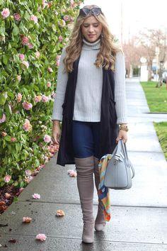 neutral layers - winter fashion