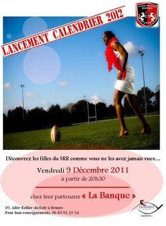 Les filles du Stade Rennais dévoilent leur calendrier - Rennes Maville - 29/11/2011