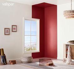 Valspar colors of the year Home Room Design, Home Interior Design, Interior Decorating, House Design, Home Paint Design, Color Interior, Interior Paint, Design Design, Inspiration Wand