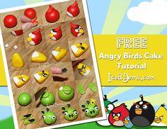 Angry Birds Cake Tutorial