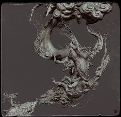 :D,HI everyone,I love ZBrush!:cool: head Modeled with zbrush,rendered with keyshot. Modeled with zbru… Aliens, Snowboard Design, Stencil Wall Art, 3d Artwork, Amazing Artwork, Virtual Art, Environment Design, Art Model, Creature Design