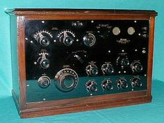 Federal Telephone & Telegraph Co.   Type 61  #vintageradios