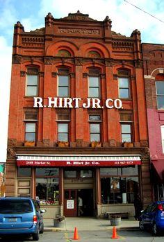 R. Hirt Jr. Co. Eastern Market, Detroit