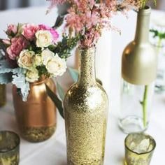 wine-bottle-vaso de flores