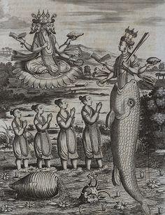 Philipp Baldaeus -Wahrhaftige ausführliche beschreibung der berühmten ostindischen kusten Malabar und Coromandel, als auch der insel Zeylon(1672).