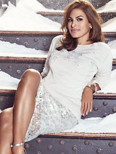 Shop Eva Mendes Collection - Emma Sequin Pencil Skirt. Find your perfect size online at the best price at New York
