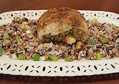 Cajun Stuffed Catfish on Creole Wild Rice Recipe -  Are you ready to cook? Let's try to make Cajun Stuffed Catfish on Creole Wild Rice in your home!