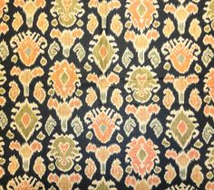 Namaste Cliffside Graphite Ikat Print Drapery Fabric by Swavelle Mill Creek Discount Fabric Online, Buy Fabric Online, Kilim Fabric, Drapery Fabric, Graphite, Ikat Print, Fabric Design, Printing On Fabric, Bohemian Rug