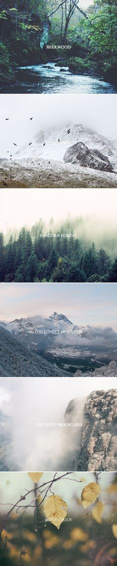 Middle-earth + aesthetics pt. I