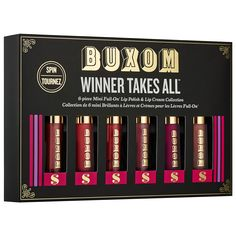 Winner Takes All™ Lip Set - Buxom | Sephora