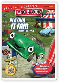 Auto-B-Good: Playing It Fair Special Edition // EJ has discovered a monster lurking outside the City of Auto, but cannot convince his friends - except for Izzi, who believes in her friend no matter what. Children will learn about trustworthiness, helpfulness and enthusiasm. With each episode being wrapped up with a music video, this video is full of fun and Bible-centered values!