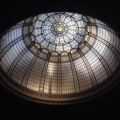 「#ArtDeco glass dome at the #Cinquantenaire #Museum by @manuloveskarma #architecture #Brussels #Bruxelles #Brussel」