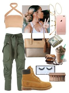 """""""MilaJ style"""" by annabidel ❤ liked on Polyvore featuring Faith Connexion, Boohoo, Persol, Timberland, Calvin Klein, Carolina Bucci, Huda Beauty and Urban Decay"""