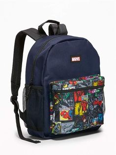 dbdec95dea30b6 Old Navy Marvel Comics Super-Heroes Backpack for Kids Kids Backpacks, Cute  Backpacks For