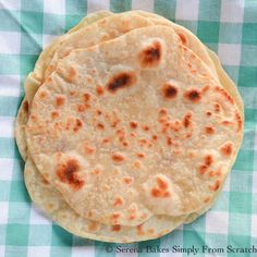 Soft and Chewy Homemade Soft Flour Tortillas