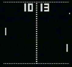 Pong.... played my sons atari for hours on end with this tennis game..would love to have one on me phone..