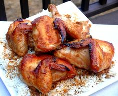 Indonesian Ginger Chicken (halved the recipe for just one chicken and ...