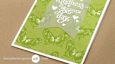 Stamp Layering Video by Jennifer McGuire Ink