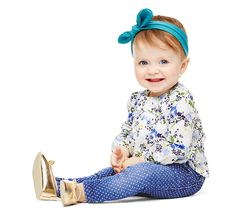 That smile is all we need. Make sure your little one has everything she needs for spring!