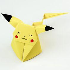 3D Origami Pikachu | Tektonten Papercraft