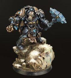 Spacewolf Terminator, Space Marines, Warhammer 40k, Wolf Priest