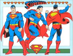 Superman style guide by Jose Luis Garcia-Lopez (1982).