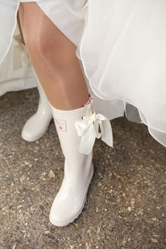 Sexy wedding boots!